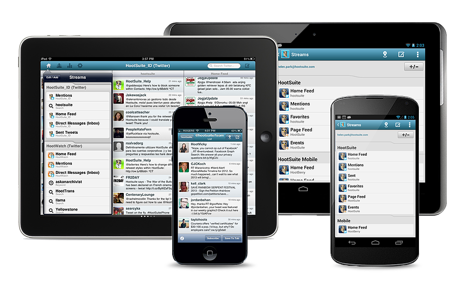 HootSuite event apps