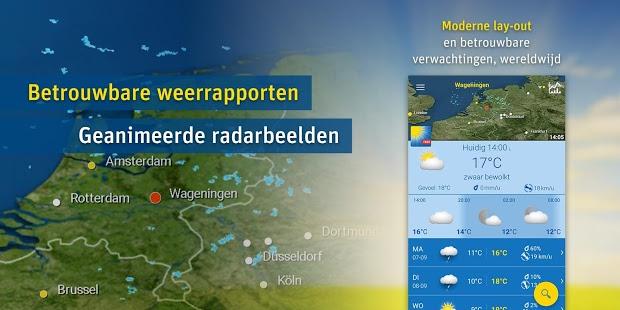 Weatherpro event app