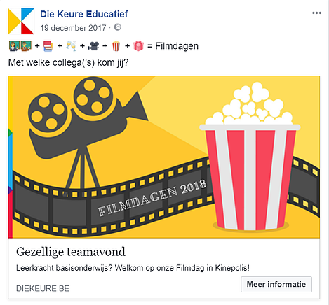 Uitnodiging Facebook