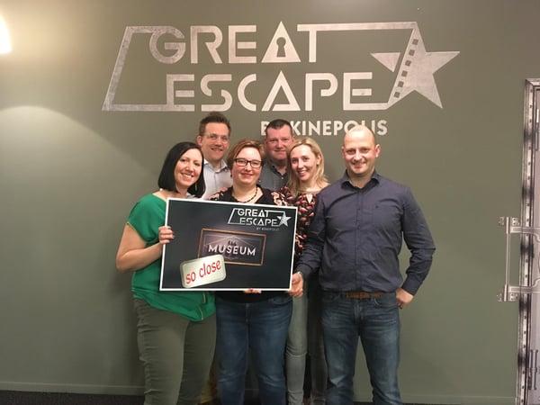 escape room als bedrijfsuitje